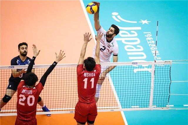 شکست آسان برابر سامورایی ها ، والیبال ایران حریف ژاپن نشد