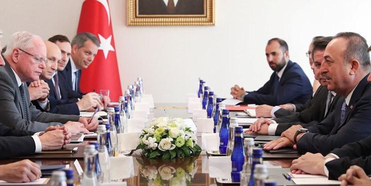 با وجود تنش ها، مقام های ارشد آمریکا و ترکیه با هم دیدار کردند