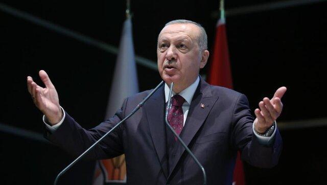 تاکید اردوغان به همکاری با ایران درباره مسائل منطقه ای و بین المللی