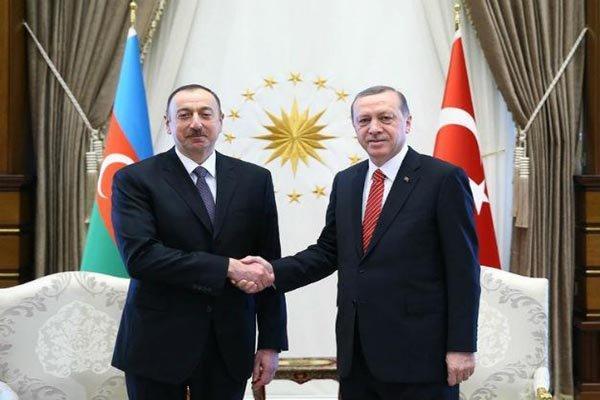 اردوغان و علی اف تبادل نظر کردند، مرز 2 کشور بسته شد