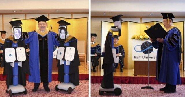 برگزاری جشن فارغ التحصیلی روباتیک در ژاپن