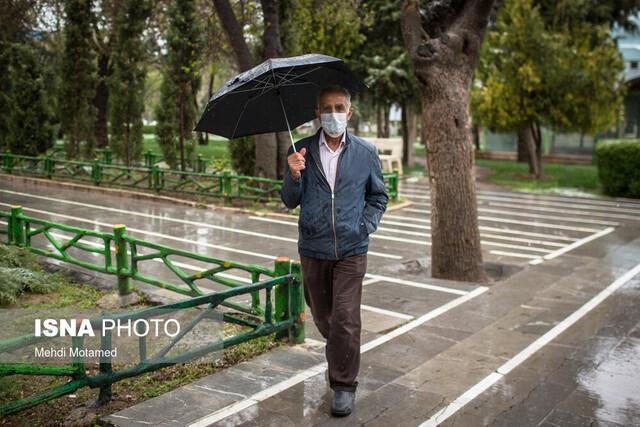ثبت بارش 54 میلی متری در معلم کلایه قزوین
