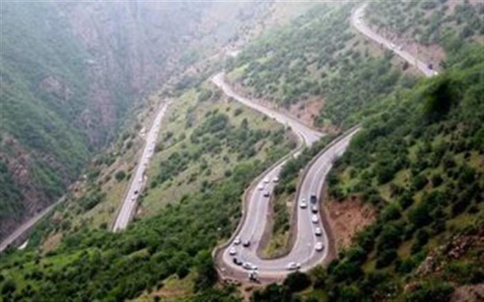 محور هراز آدینه به سمت تهران یکطرفه می گردد