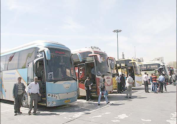 تردد اتوبوس ها با 40درصد ظرفیت در دوران کرونا