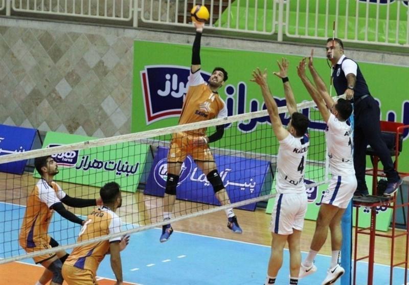 لیگ برتر والیبال، پیروزی سایپا و شهرداری ارومیه در آخرین بازی های هفته هشتم