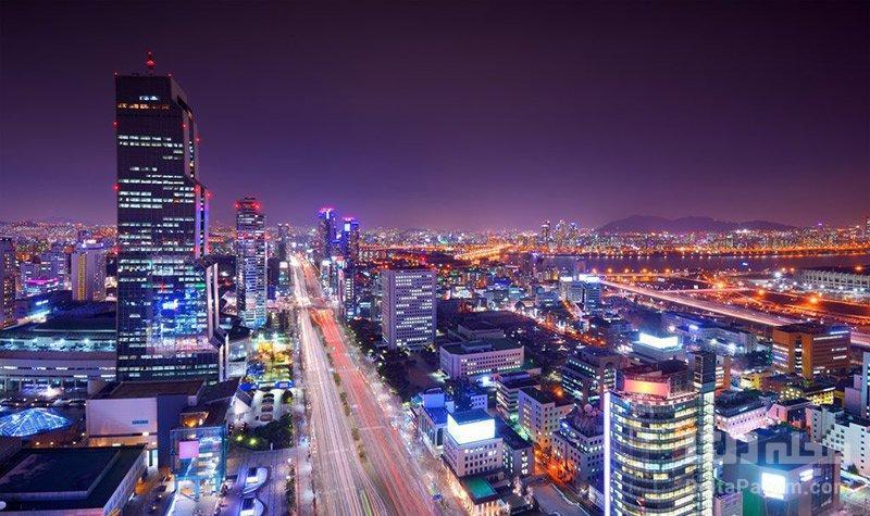 خیابان تهران در کره جنوبی