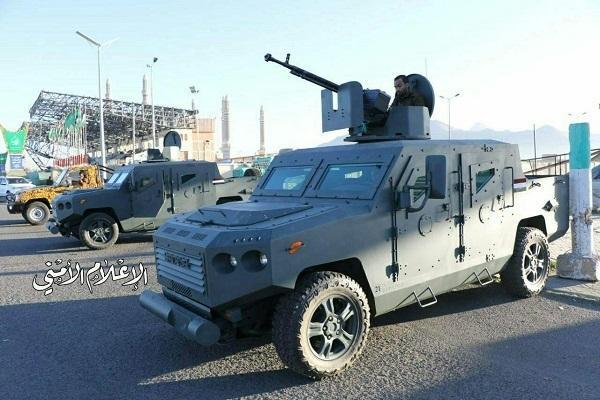 یمن خودروی زرهی ساخت