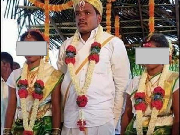 ازدواج همزمان این مرد با دو خواهر خبرساز شد!