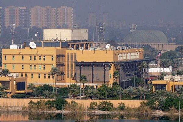 حمله پهپادی به سفارت آمریکا در بغداد ، به صدا در آمدن آژیر خطر